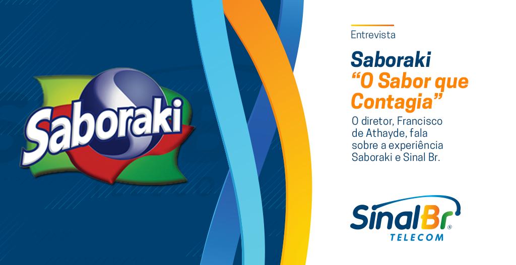 Sinal Br entrevista - Refrigerantes Saboraki