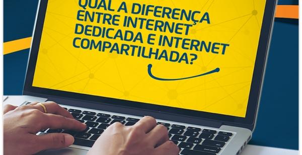 Internet Dedicada X Internet Compartilhada. Entenda a diferença.